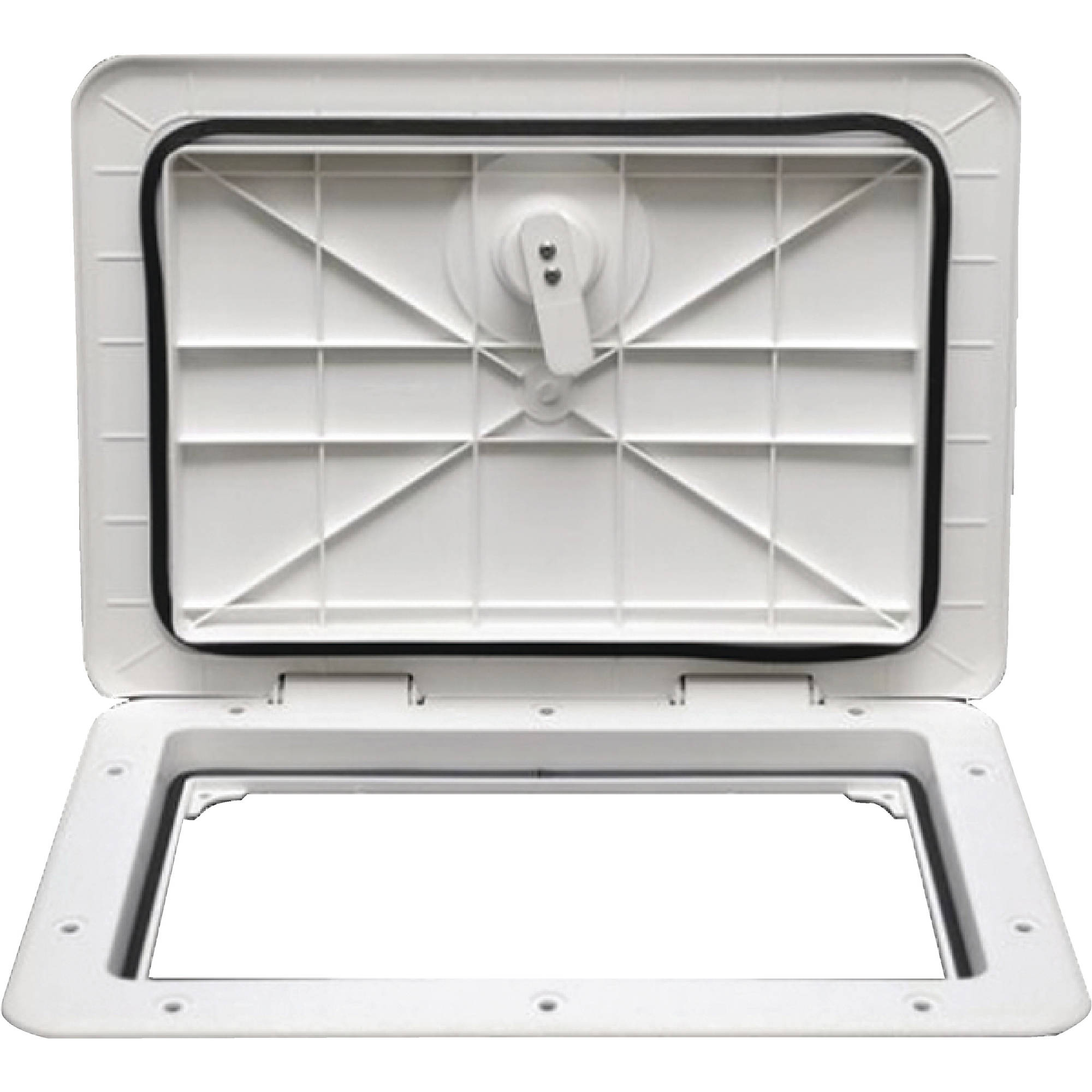 "Click here to buy T-H Marine Sure-Seal Non-Locking Access Hatch, 13-1 4"" x 30-3 4"" by T-H Marine Supplies."