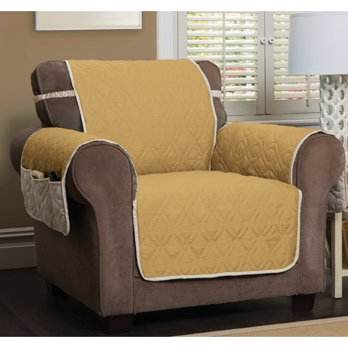 Winston Porter Box Cushion Armchair Slipcover