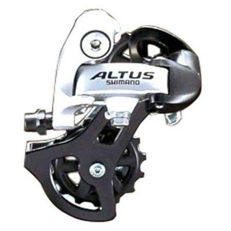 Shimano Altus M310 7/8-Speed Rear Derailleur Silver (Shimano 105 Derailleur 10)