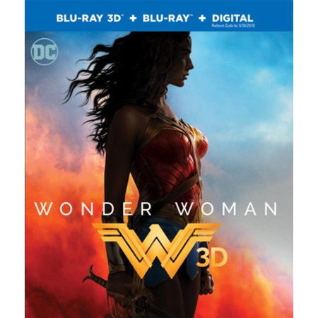 Wonder Woman  3D Blu Ray   Blu Ray   Digital
