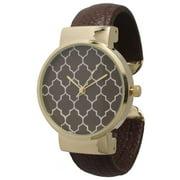 Olivia Pratt Geometric Pattern Watch