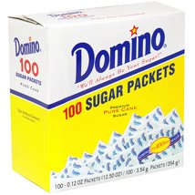Sugar & Sweetener: Domino Pure Cane Granulated Sugar Packets