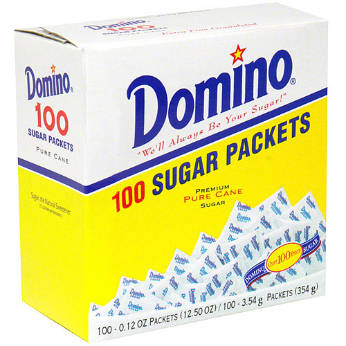 Domino Sugar, 100ct (Pack of 12)