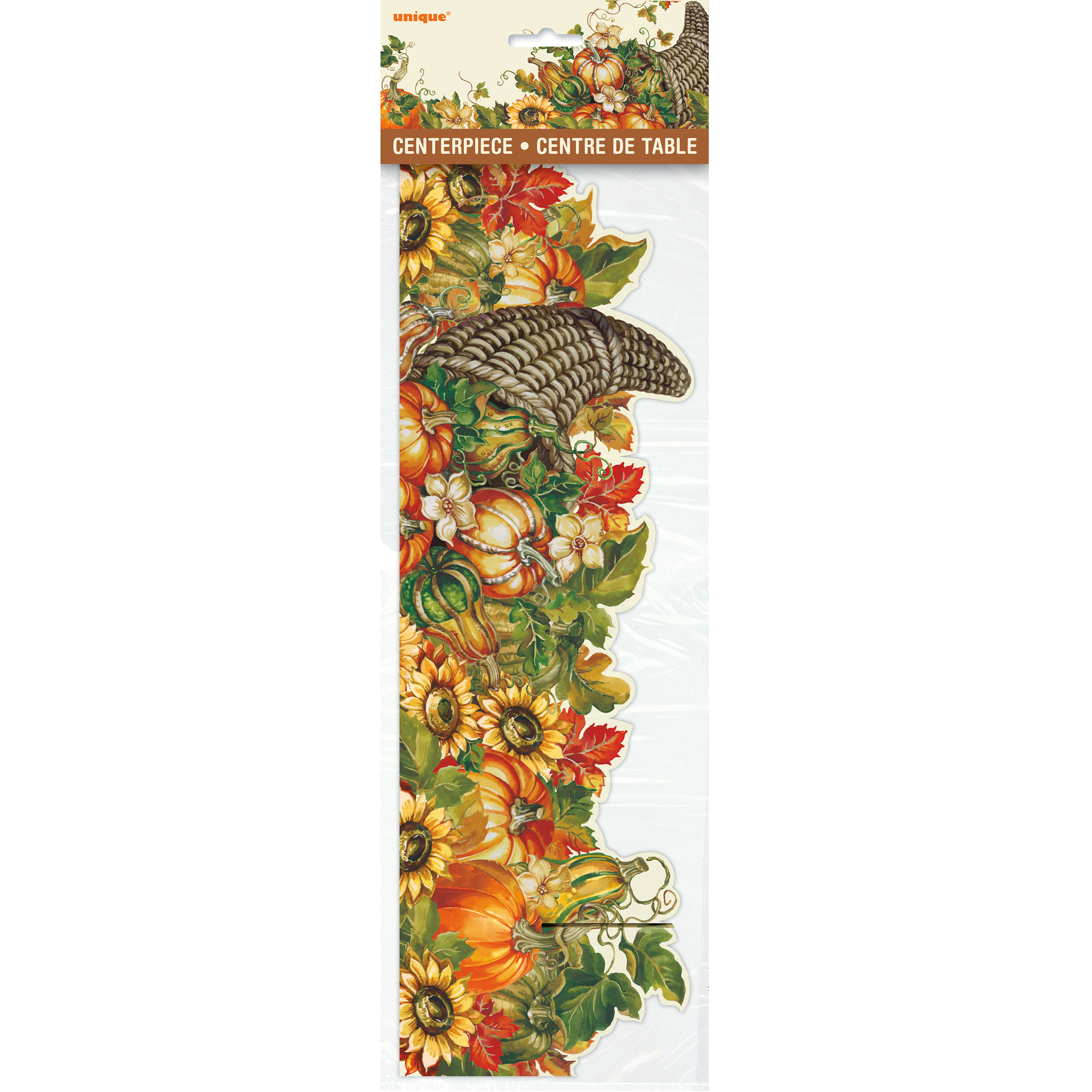 (2 pack) Harvest Pumpkins Fall Centerpiece Decoration, 14 in, 1ct