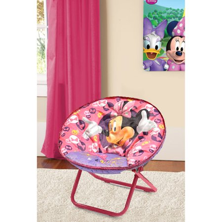 Disney Minnie Mouse Saucer Chair, Available in Multiple - Minnie Mouse Carpet
