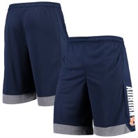 Men's Russell Athletic Navy Auburn Tigers Athletic Fit Colorblocked Training Shorts