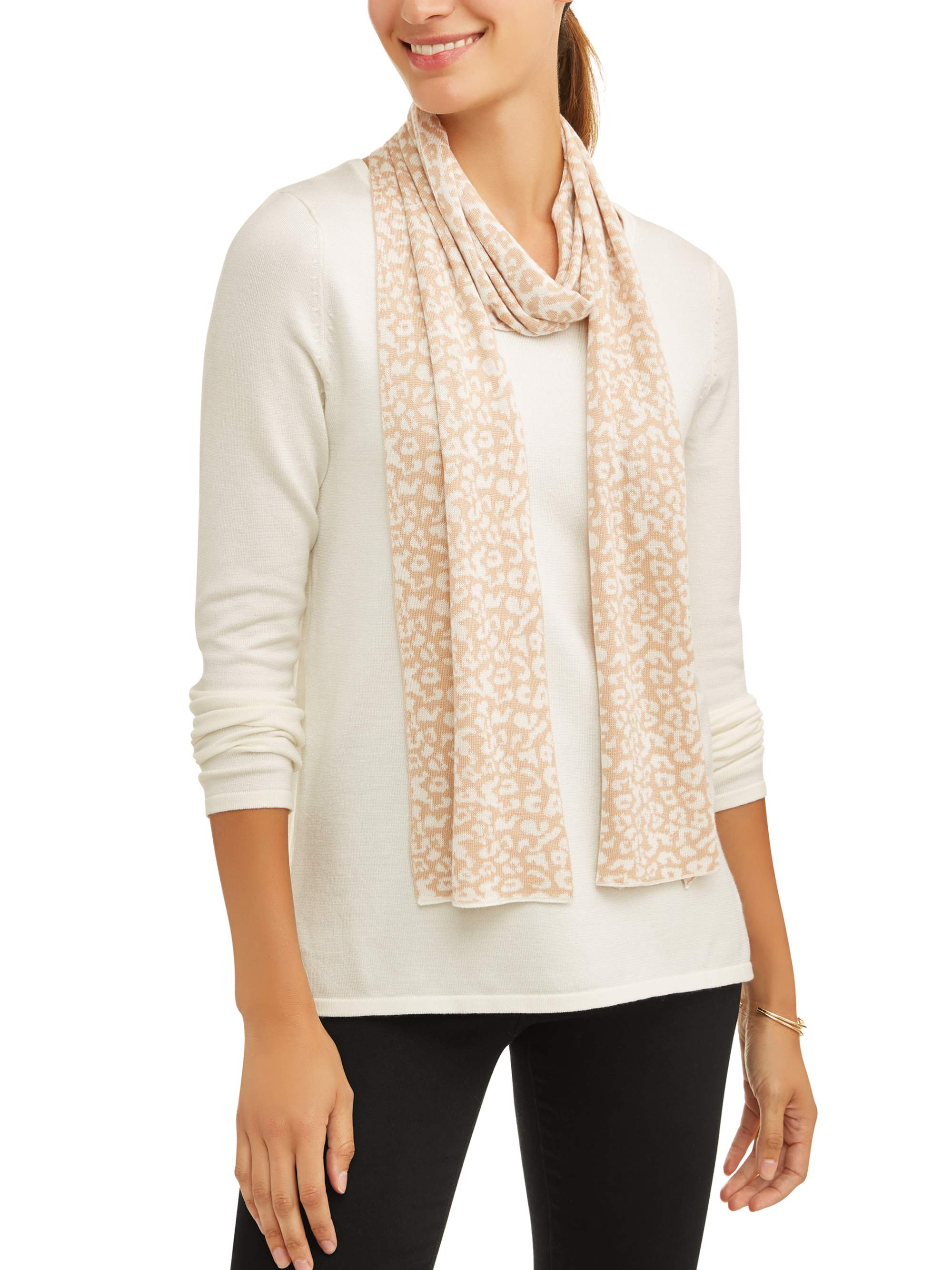 Women's 2fer Sweater with Scarf