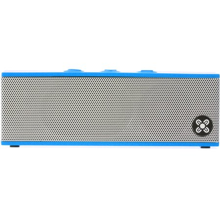 Moki BassBox Portable Bluetooth Speaker with;Microphone, Assorted Colors