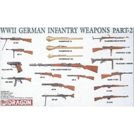 Wwii German Infantry Weapons - 1/35 WWII German Infantry Weapons Pt. 2 (38)