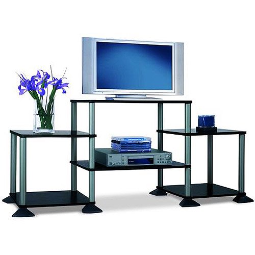 black tv stand walmart Mainstays TV Stand, for TVs up to 32