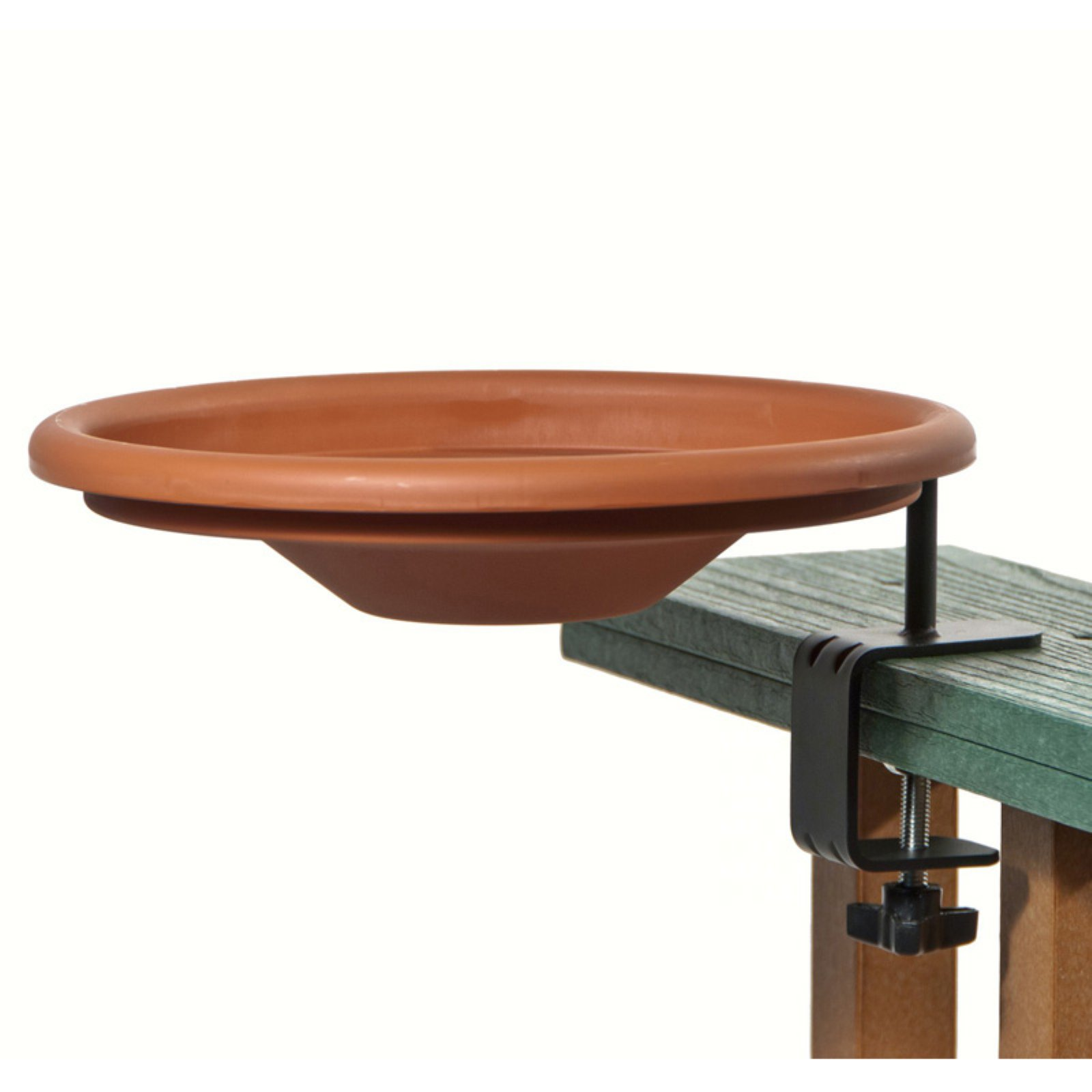 Wood Link Deck Mount Birdbath by Kay Home Products (Heritage Farms)