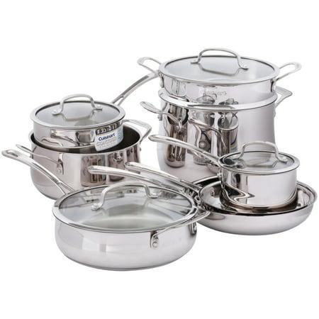 Cuisinart Stainless 13 Piece Cookware Set