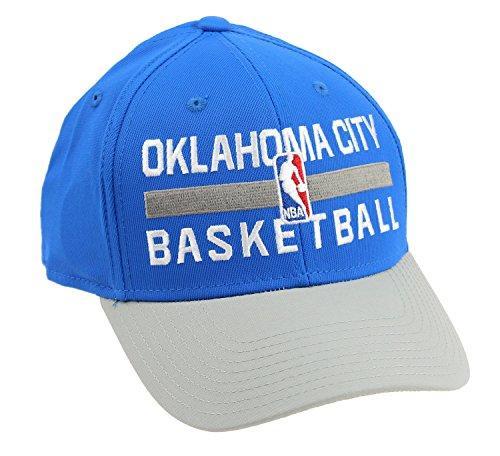 Adidas NBA Men's Oklahoma City Thunder Official Practice Flex Hat