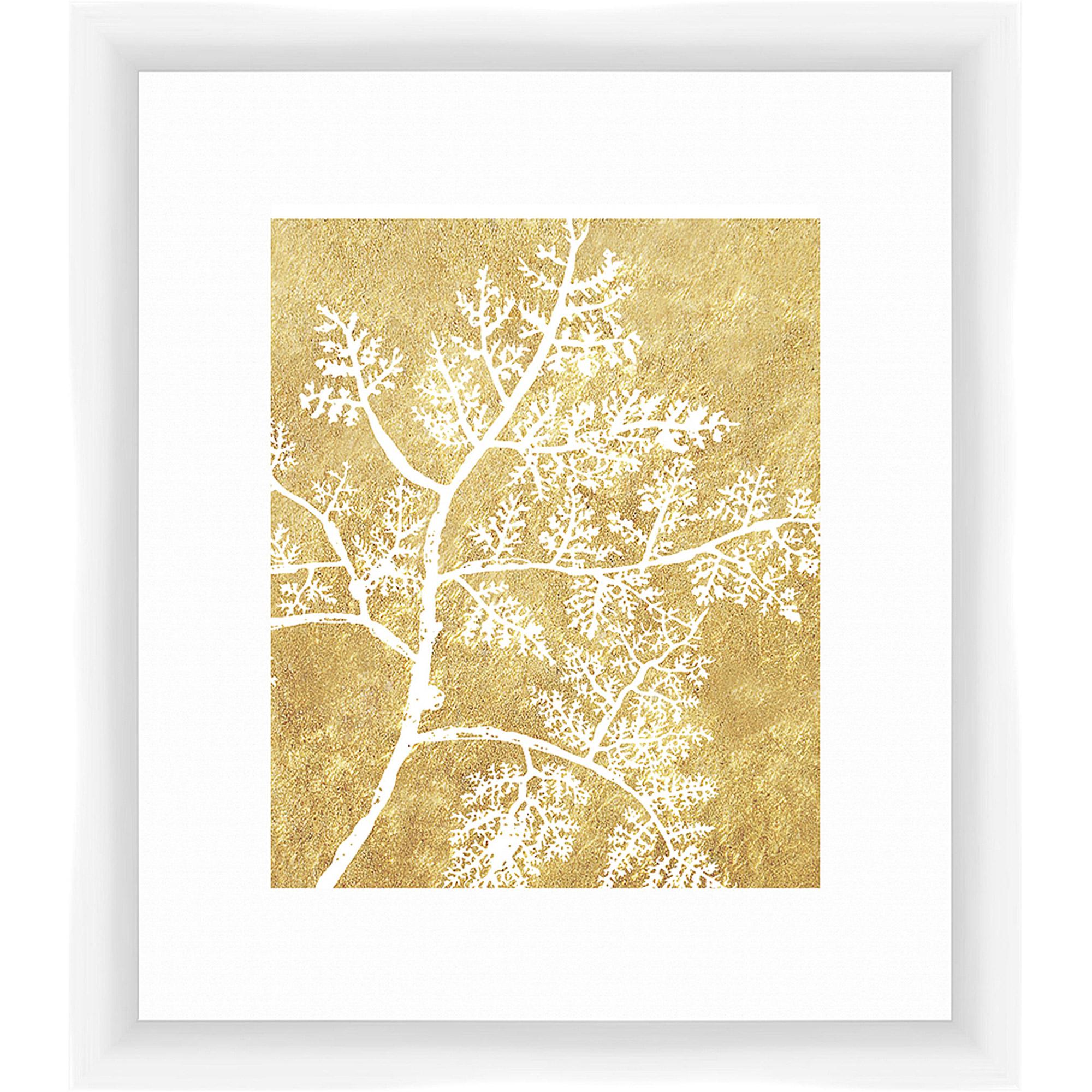 Golden Elements I Wall Art, 14x16