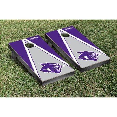 Victory Tailgate NCAA Triangle Version Cornhole Game Set - Bull And Bear Chicago Halloween