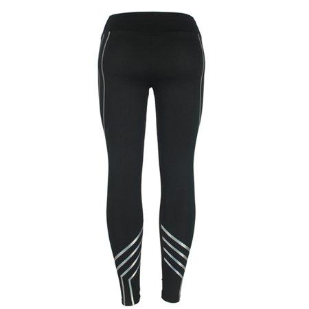 LELINTA Women's Tummy Control Waist Yoga Fitness Leggings Running Gym Stretch Sports Pants Trousers - image 5 of 6