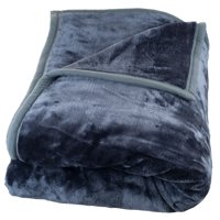 Somerset Home Soft Heavy Thick Plush Full/Queen Mink Blanket, 8 lbs
