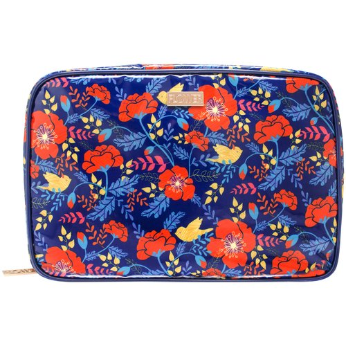 Flower Pumped Up Petals Weekender Cosmetic Bag