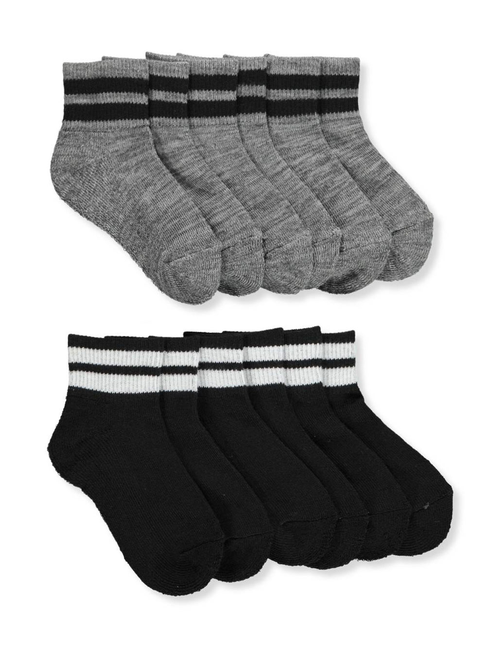 Baby Lounge Baby Boys' 6-Pack Crew Socks