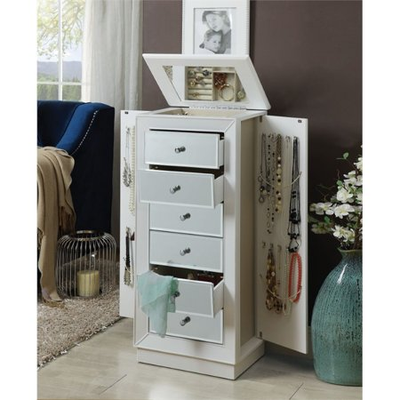 ACME Talor Jewelry Armoire in White - image 2 of 2