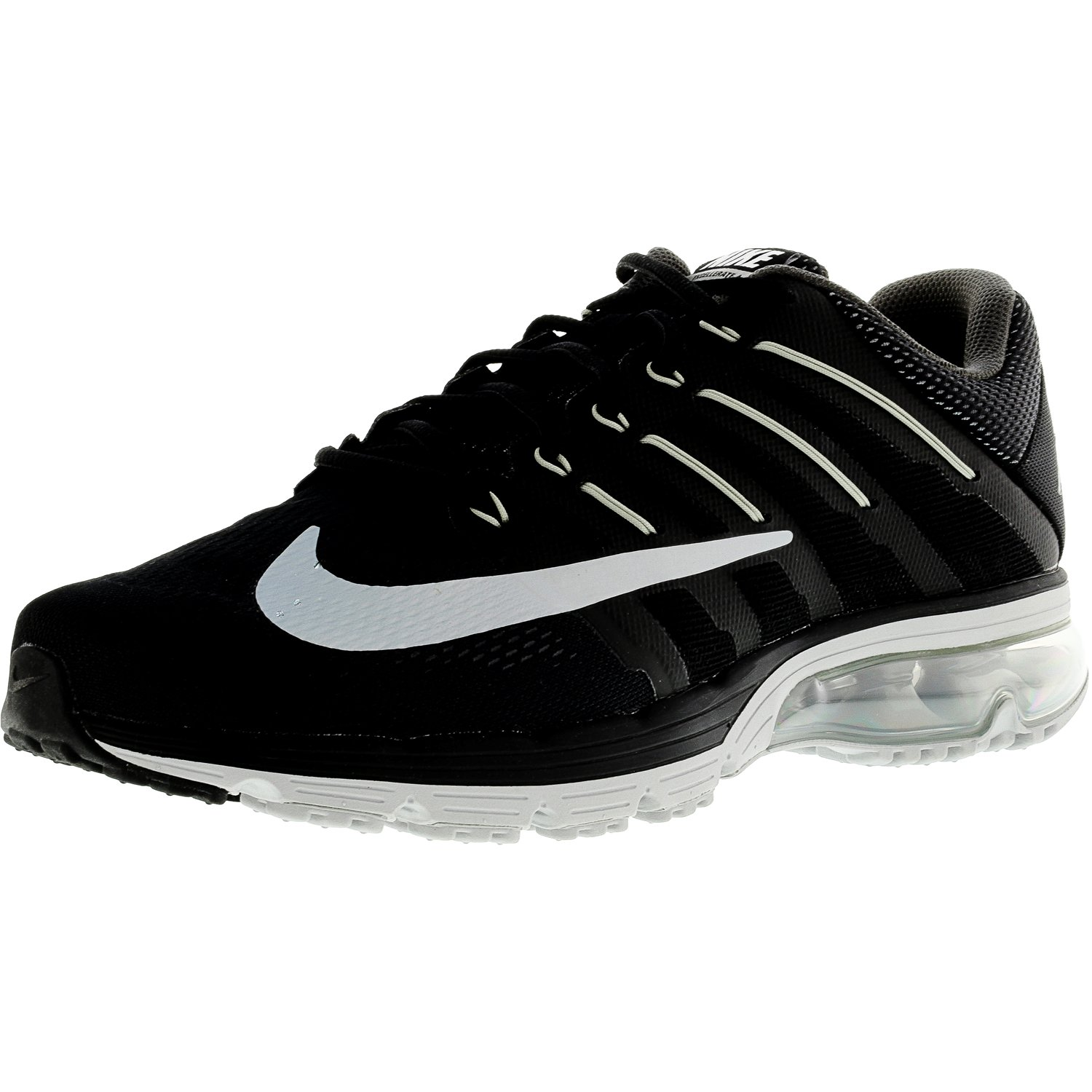 info for 92e72 c59cd ... new zealand nike mens air max excellerate 4 black white dark grey ankle  high rubber 78a8f