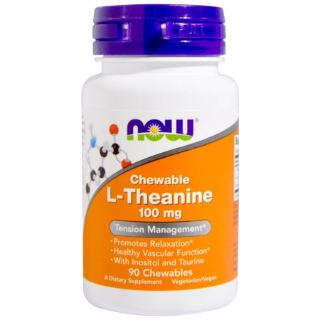 Foods Chewable (Now Foods  L-Theanine  100 mg  90 Chewables )