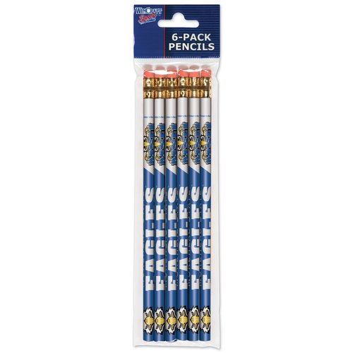 American Logo Products Morehead State Eagles Pencils, 6-Pack