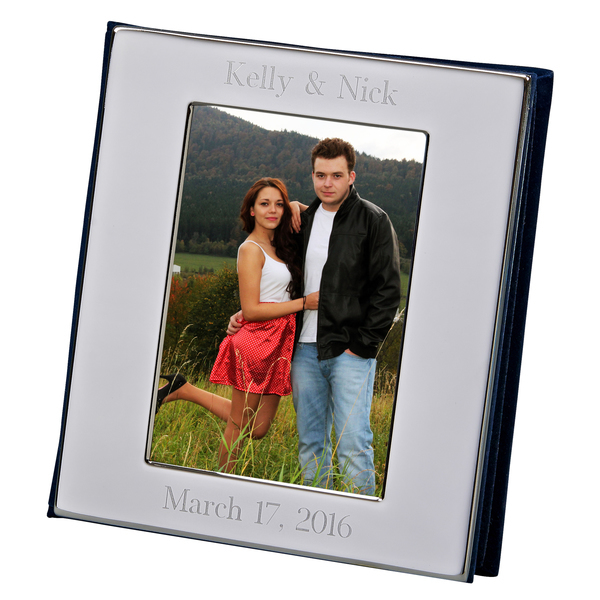 Personalized Nickel Plated Frame Cover Photo Album
