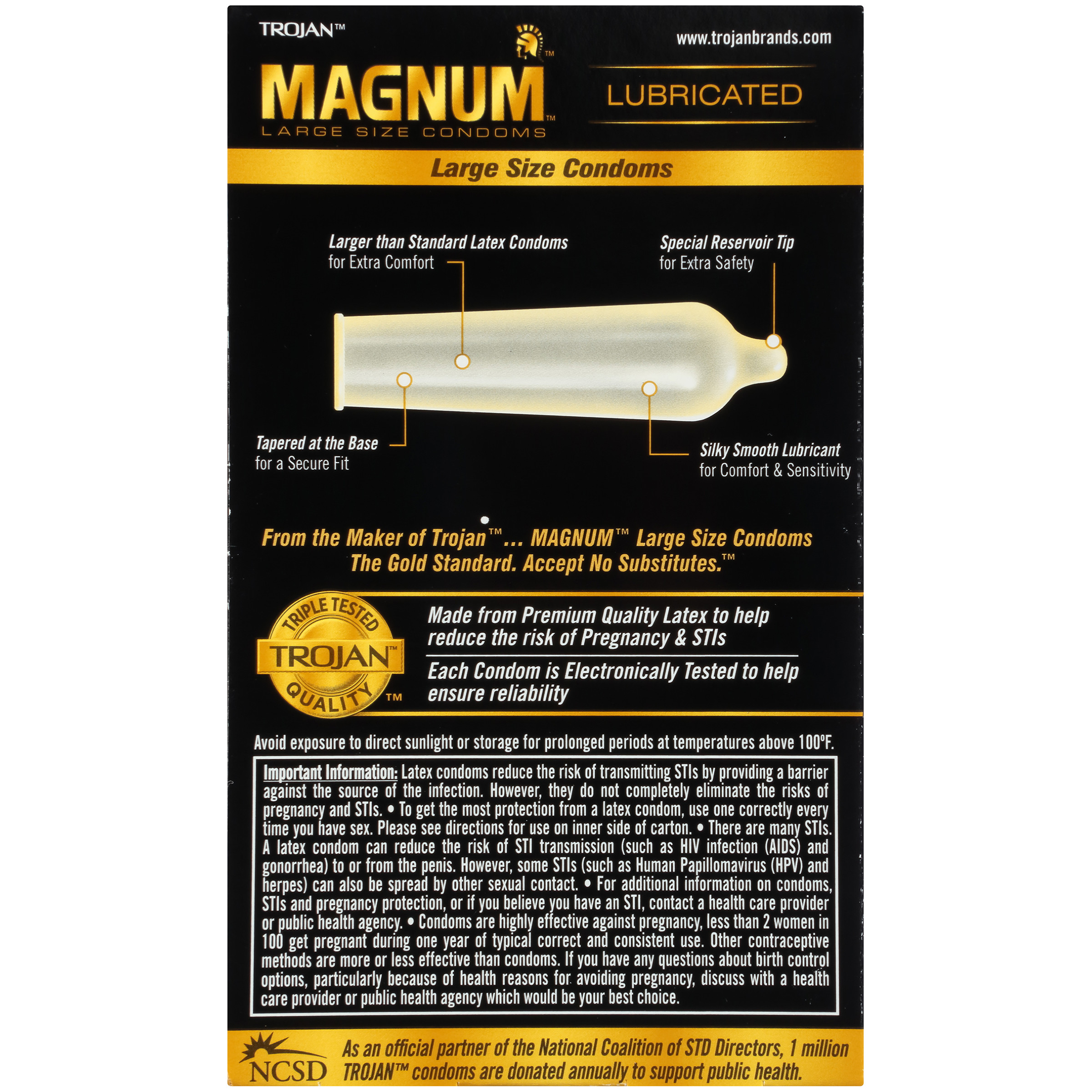 Excited too trojan magnum condom on penis excellent question