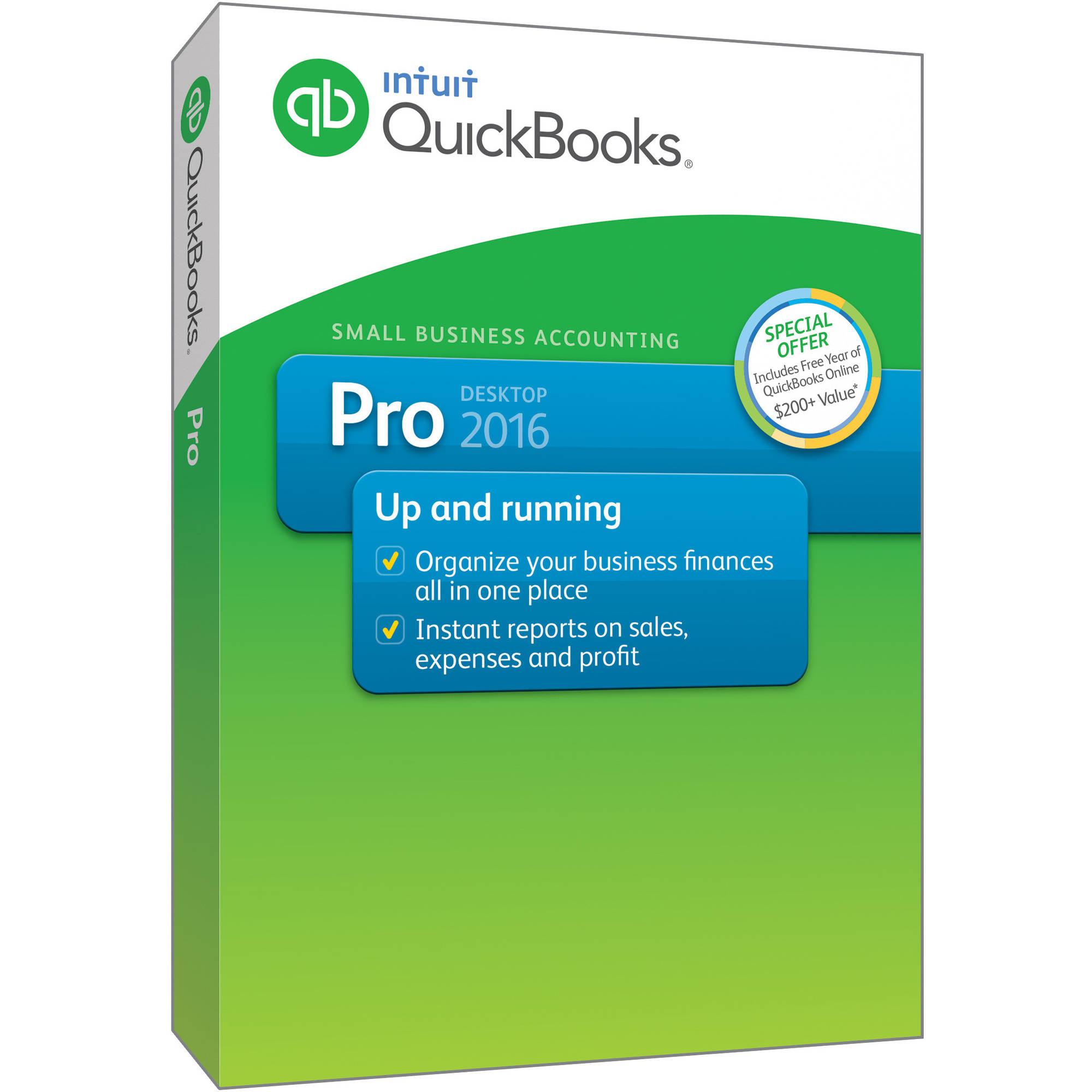 Quickbooks Pro 2016 Walmart Com