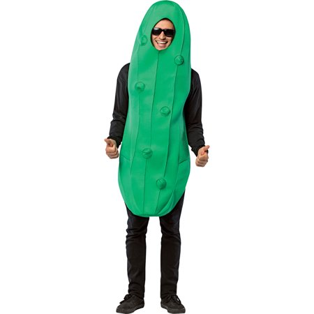 Morris Costumes Adult Unisex New Pickle Gag Costume Green One Size, Style - Electric Pickle Halloween