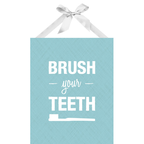 PTM Images Brush Your Teeth Textual Art on Plaque