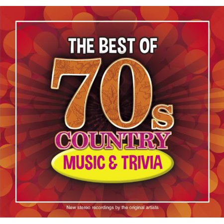 The Best Of 70s Country Music and Trivia (CD) (Best Country Music Of All Time)