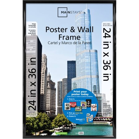 Mainstays 24u0022 x 36u0022 Trendsetter Poster and Picture Frame