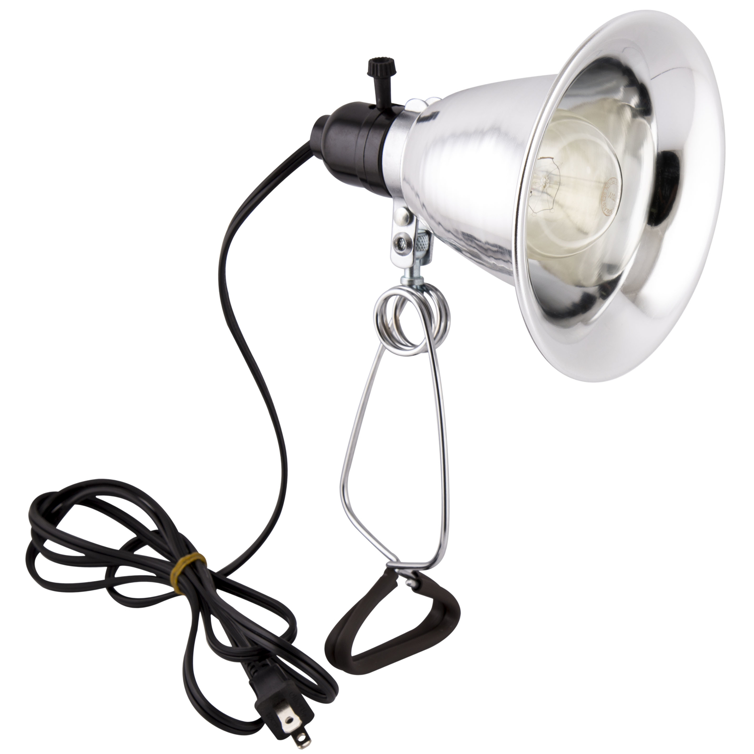 Apollo Horticulture Purple Reign 150 Watt Clip Lamp Grow Light with 5.6 Inch Reflector, 6-Foot Cord and Bulb - Clamp Lamp
