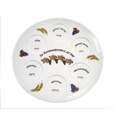 "Passover-Plate-In Remembrance Of Me (13"")-Ceramic"
