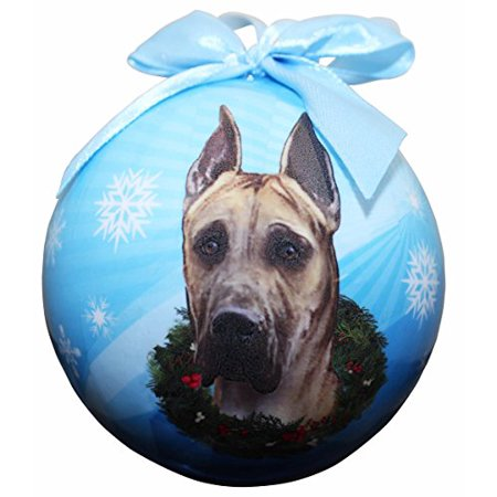 E&S Pets Great Dane Christmas Ornament Shatter Proof Ball (Set of ... - E&S Pets Great Dane Christmas Ornament Shatter Proof Ball (Set Of 2