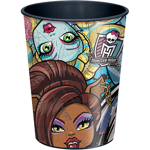 16 oz Monster High Plastic Cup
