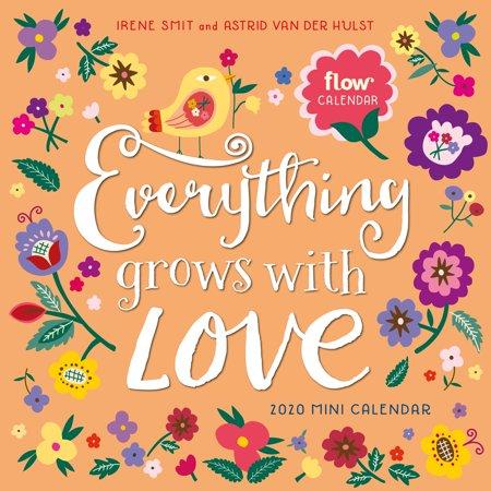 Everything Grows with Love Mini Wall Calendar 2020 Mini Truck Magazine