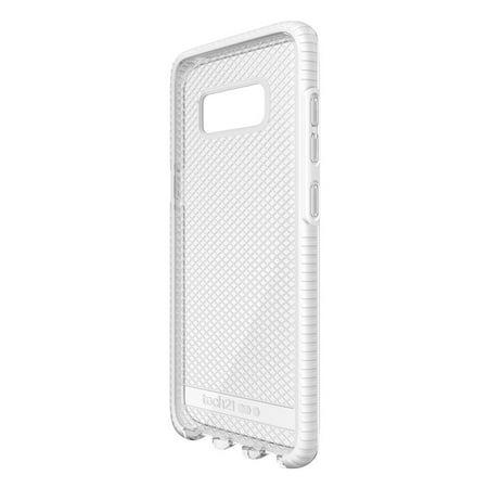 free shipping 48c2e 5cc9f Tech21 Evo Check case cover for the Samsung Galaxy S8 Clear/White