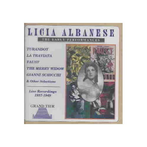 Licia Albanese - The Early Performances [CD]