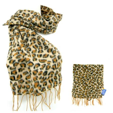 30e463329a60a ATB - 1 Womens Fashion Scarf Animal Print Shawl Wrap Soft Winter Warm Cheetah  Pashmina - Walmart.com