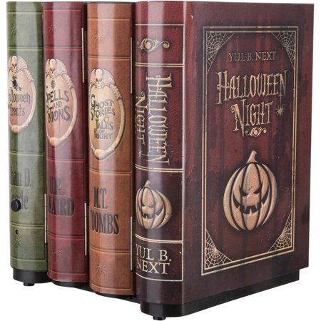 Moving Books Animated Halloween Decoration](Animated Happy Halloween Pics)