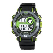 Men's Sport Green Countertop Watch, Resin Band