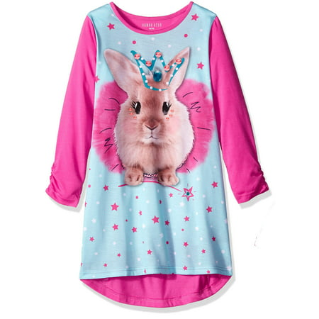 34762c8812 Komar Kids - Big Girls  Puppy Love Gown - Walmart.com