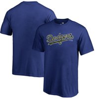 Los Angeles Dodgers Fanatics Branded Youth Armed Forces Wordmark T-Shirt - Royal
