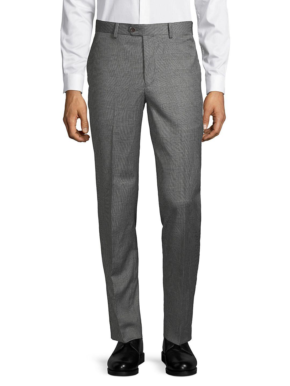 Mason Fit Plaid Suit Seperate Pants