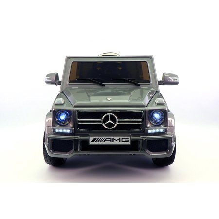 Mercedes Benz G65 Ride On Toy Car With Parental Remote Grey