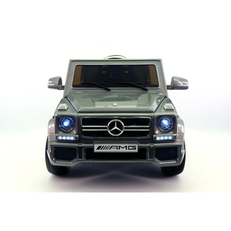 Mercedes benz g65 amg 12v battery powered ride on toy car for Walmart mercedes benz toy car