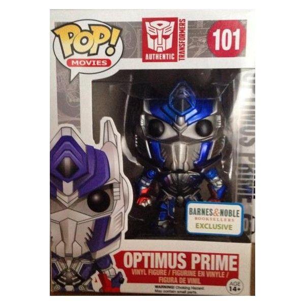 Movies Pop! Vinyl Figure Metallic Optimus Prime [Transformers: Age of Extinction] Barnes & Noble Exclusive